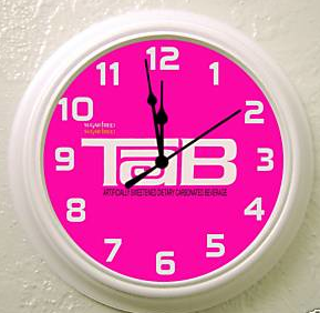 tab wall clock